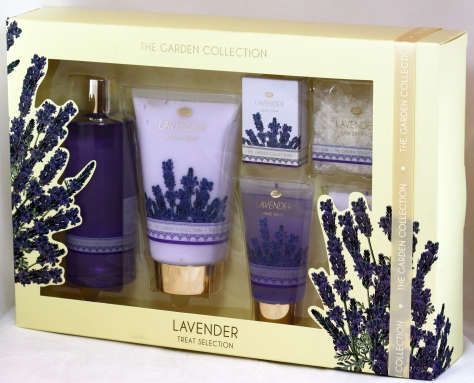 BOOTS XMAS12 GARDEN COLLECTION TREAT SET LAVANDA