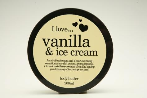 vanilla&icecream body butter